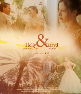 Holly and Jarryd poster
