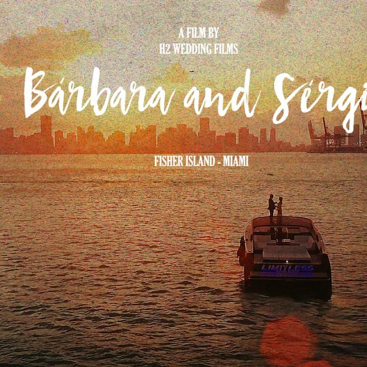 FISHER ISLAND MIAMI WEDDING   BARBARA & SERGIO   WEDDING FILM
